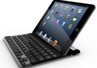 Belkin FastFit Keyboard Case for iPad mini in use