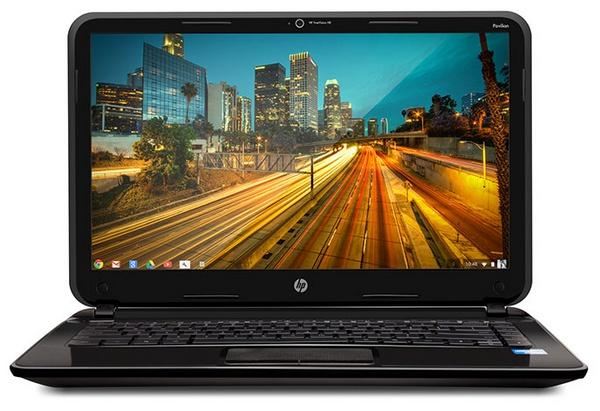 HP Pavilion 14 Chromebook screen