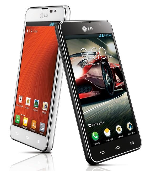 LG Optimus F5 4G LTE Android phone