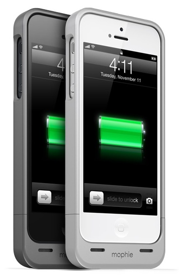Mophie Juice Pack Helium iPhone 5 Battery Case front