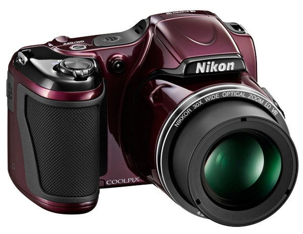 Nikon Coolpix L820 with 30x Optical Zoom plum