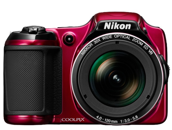 Nikon Coolpix L820 with 30x Optical Zoom red