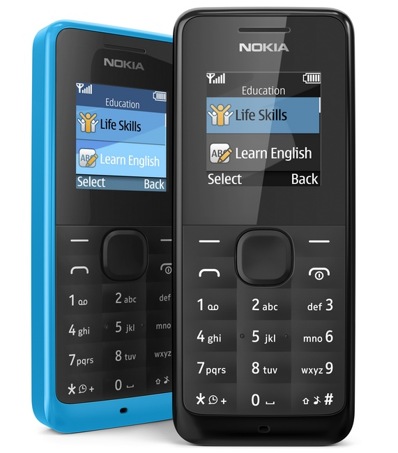 Nokia 105 Low-cost Feature Phone color