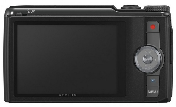 Olympus STYLUS SH-50 iHS Long-zoom Point-and-Shoot with 5-Axis Video Stabilization back