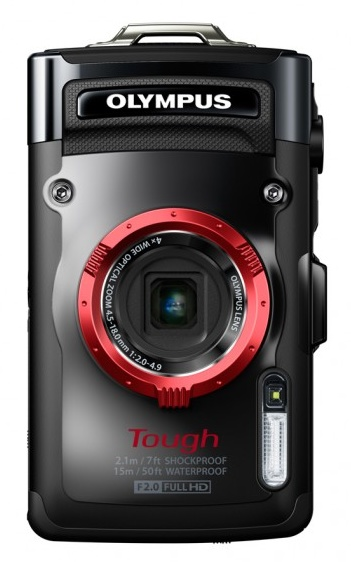 Olympus STYLUS TOUGH TG-2 iHS Flagship Rugged Camera black
