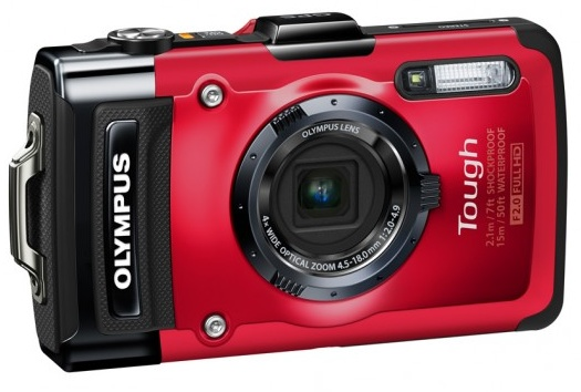 Olympus STYLUS TOUGH TG-2 iHS Flagship Rugged Camera red
