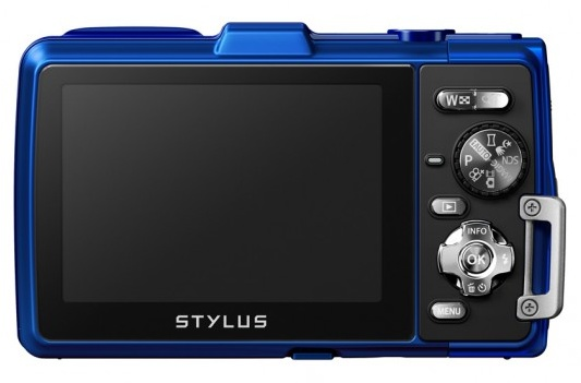 Olympus STYLUS TOUGH TG-830 iHS rugged camera back
