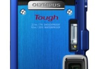 Olympus STYLUS TOUGH TG-830 iHS rugged camera blue