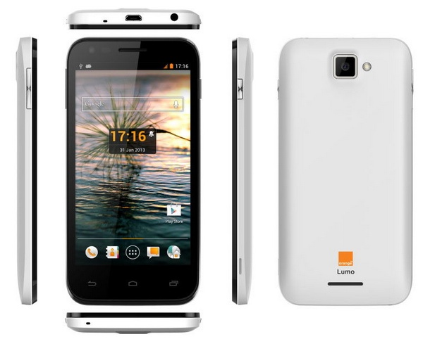 Orange Lumo 4G LTE Android smartphone