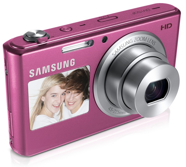 Samsung DV150F Smart Camera with WiFi and Touchscreen plum