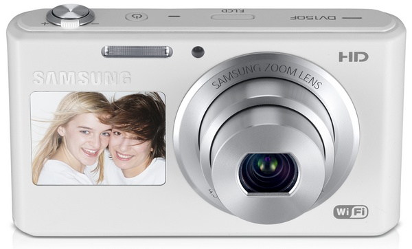 Samsung DV150F Smart Camera with WiFi and Touchscreen white
