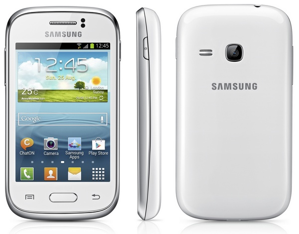 Samsung Galaxy Young entry-level Smartphone