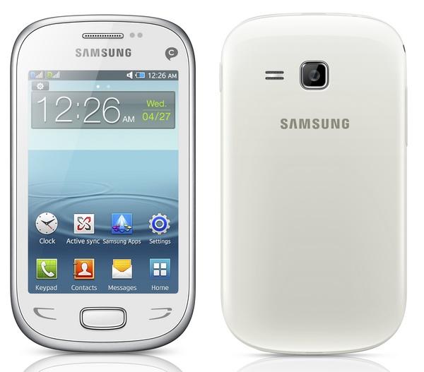 Samsung REX 90 (GT-S5292) smart feature phone