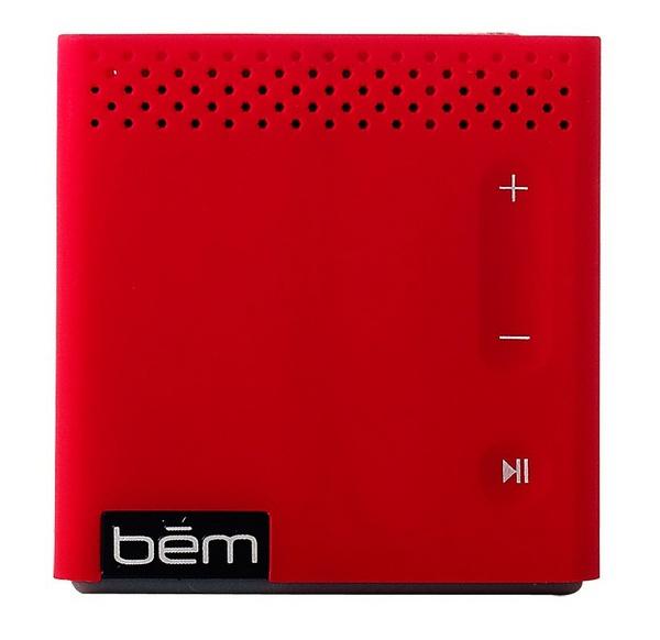 bem Wireless Mobile Speaker red