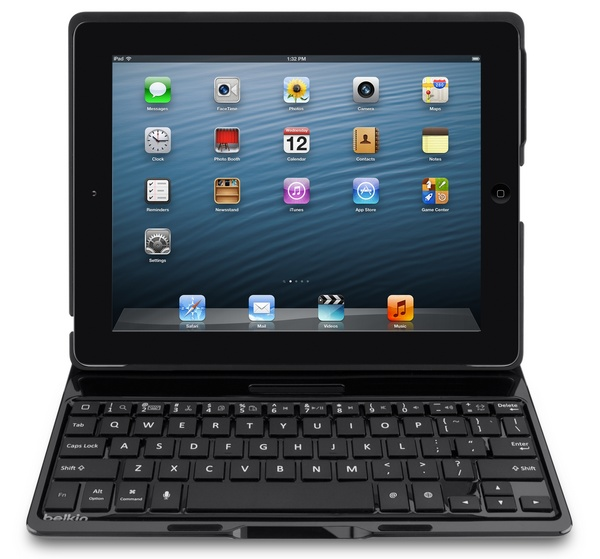 Belkin Ultimate Keyboard Case for iPad black front