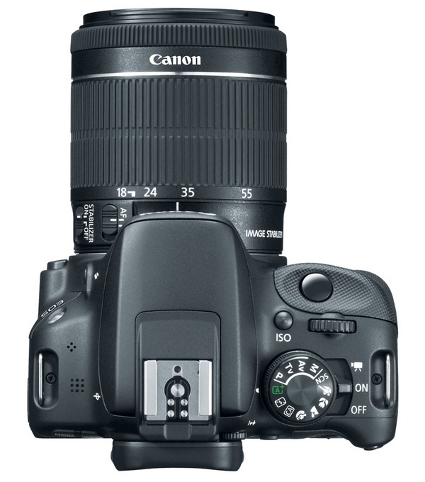 Canon EOS Rebel SL1 is the World's Smallest and Lightest DSLR top
