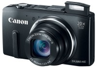 Canon PowerShot SX280 HS with 20x Optical Zoom, WiFi and GPS black flash