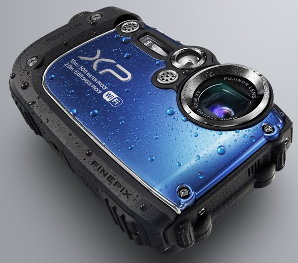 FujiFilm FinePix XP200 Ultra Rugged Camera with WiFi blue