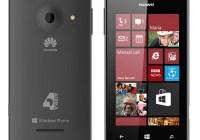 Huawei Windows Phone 4Afrika black