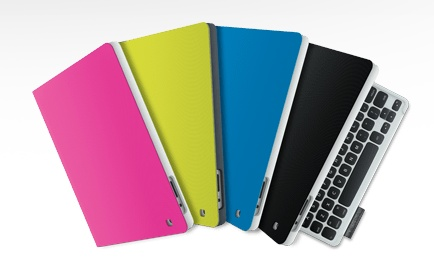 Logitech Keyboard Folio for iPad colors