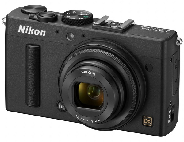 Nikon CoolPix A packs DX-format sensor in Pocket Size black angle