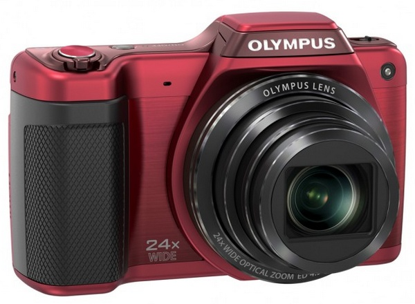 Olympus STYLUS SZ-15 Long-zoom Camera red