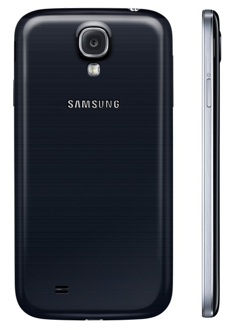 Samsung Galaxy S4 8-core Android smartphone black back
