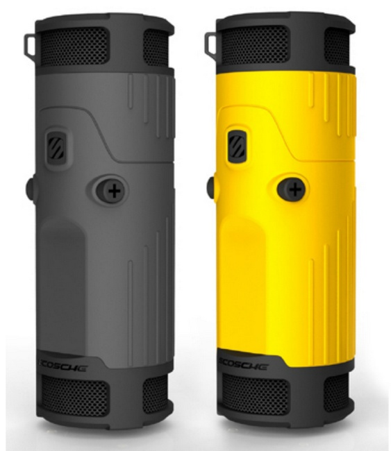 Scosche boomBOTTLE Weatherproof Wireless Speaker colors