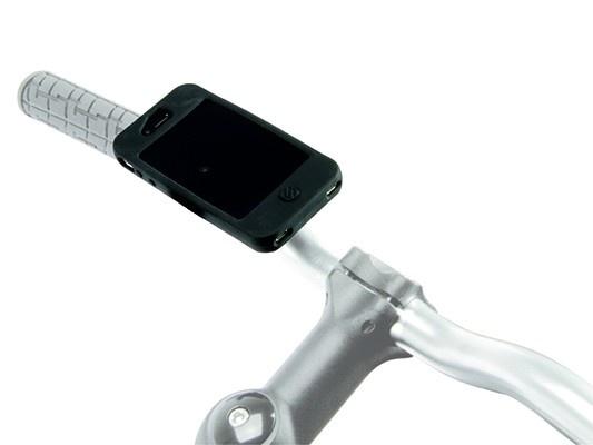 Scosche reqKASE iPhone 5 Bike Case and Mount in use