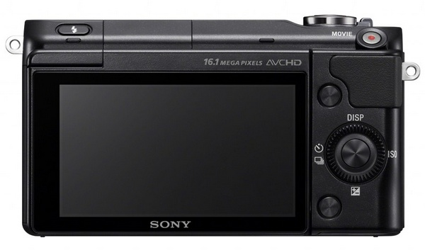 Sony Alpha NEX-3N Mirrorless Camera back