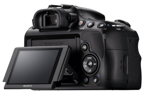 Sony Alpha a58 DSLR Camera for Beginners back screen