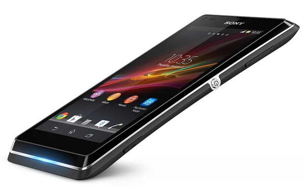 Sony Xperia L Stylish Entry-level Android Smartphone black angle