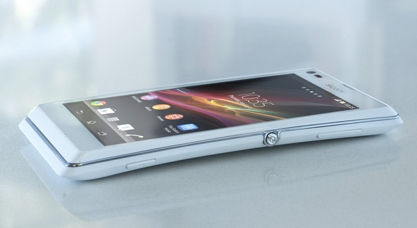 Sony Xperia L Stylish Entry-level Android Smartphone on table