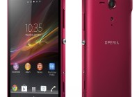 Sony Xperia SP Mid-range Smartphone red