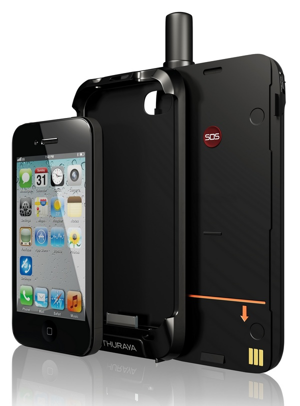 Thuraya SatSleeve adds Satellite Connectivity to iPhone