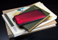 mophie juice pack air battery case for iPhone 5 back red