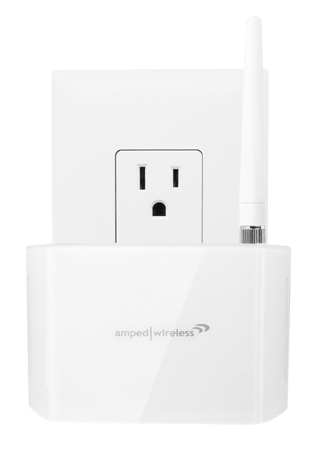 Amped Wireless REC10 Compact WiFi Range Extender front