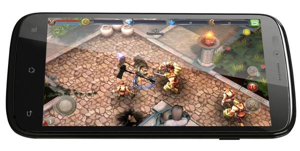 Archos 53 Platinum Android smartphone landscape