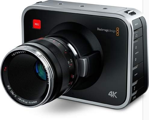 Blackmagic Production Camera 4K Digital Film Camera