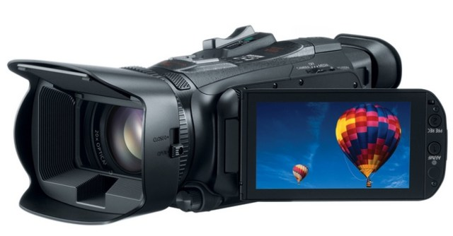 Canon VIXIA HF G30 Camcorder display