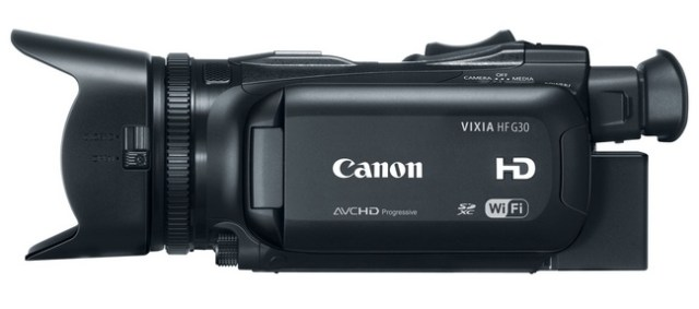 Canon VIXIA HF G30 Camcorder side