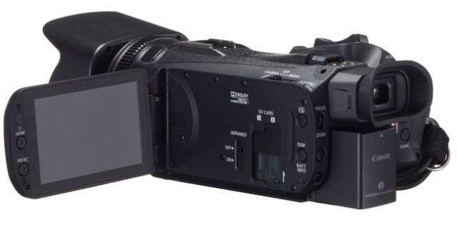 Canon XA25 and XA20 Ultra-Compact Professional Camcorders display