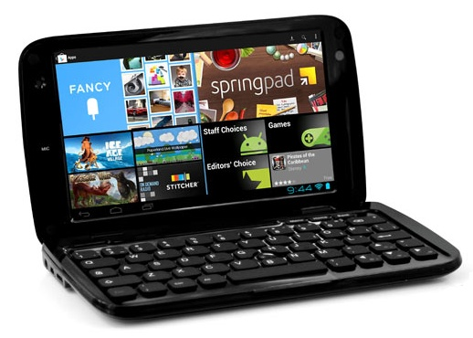 Ergo GoNote Mini 7-inch Android Tablet Netbook Hybrid black