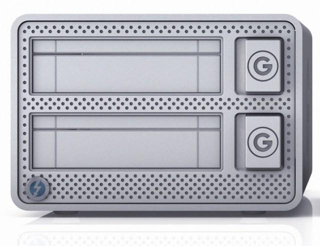 G-Technology G-DOCK ev with Thunderbolt hard drive dock