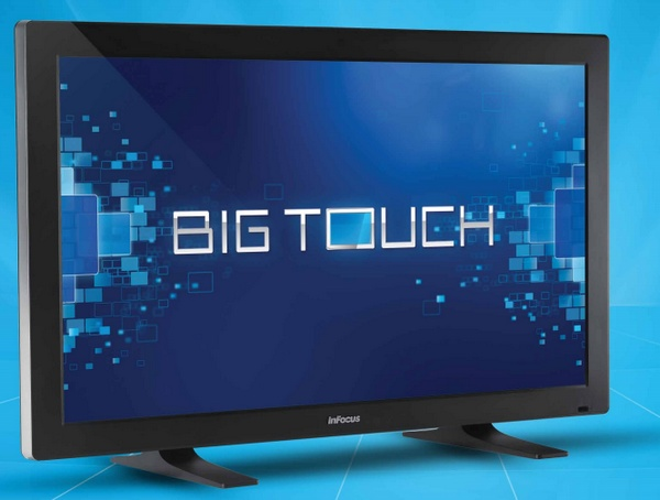 InFocus BigTouch 55-inch All-in-one Touchscreen PC runs Windows 8