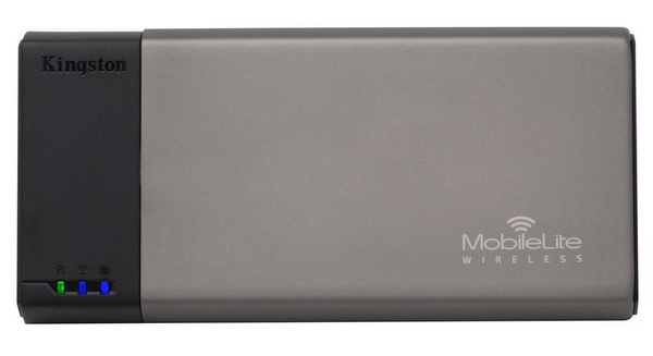 Kingston MobileLite Wireless Reader and Portable Charger for Mobile Devices