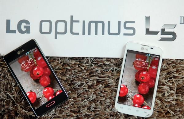 LG Optimus L5 II Dual-SIM Smartphone