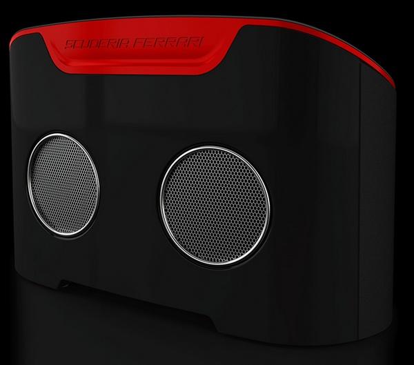 Logic3 Ferrari Scuderia FS1 Air AirPlay Speaker back