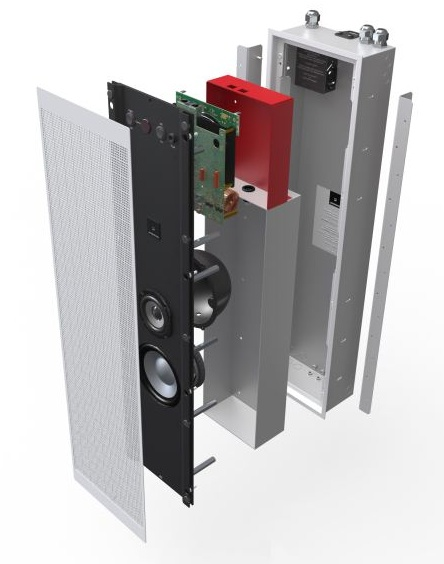 Meridian DSP520 In-wall Loudspeaker parts