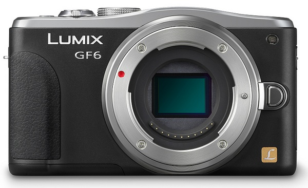 Panasonic LUMIX DMC-GF6 Micro Four Thirds Mirrorless Camera with WiFi and NFC no lens
